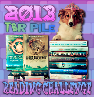 2013 TBR Reading Challenge Button