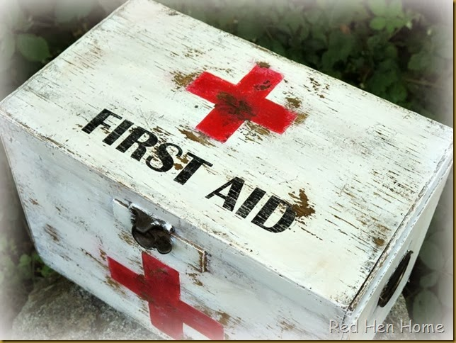 Red Hen Home First Aid Chest 3