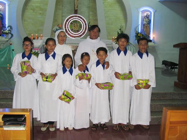 Xưng tội rước lễ lần đầu