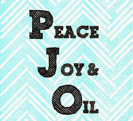 peace Joy & Oil square