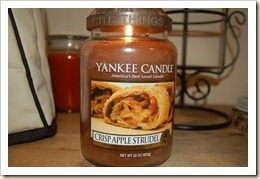 crisp apple strudel
