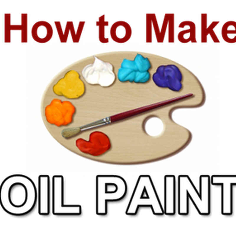 How to Make Your Own Oil Paint at Home