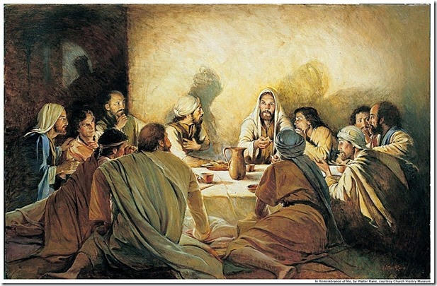 Jesus Last Supper Seder