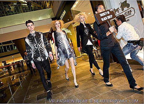 Men Women Fashion Week  Show 2012 VIP Night Marina Bay Sands Singapore The Shoppes luxury restaurants bars