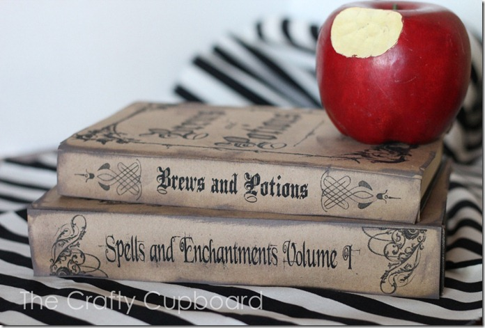 Halloween Spells and Potions Book Covers_The Crafty Cupboard
