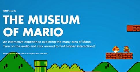 Conoce el museo virtual de Mario Bros