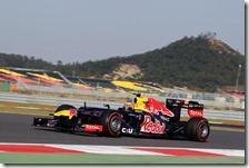Webber conquista la pole del gran premio della Corea 2012