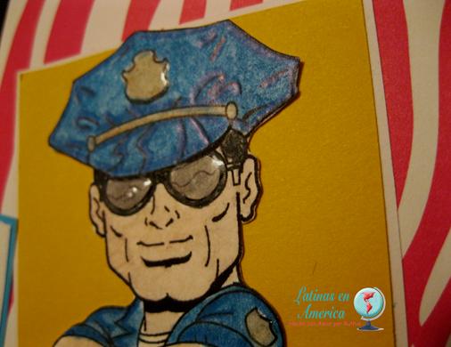 Kenny K - Policeman - Latinas en America - Ruthie Lopez DT - My Hobby = My Art 2