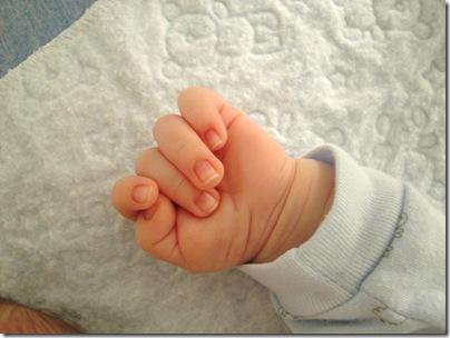 2.  Baby hand