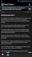 Screenshot of Scary Stories Audio (Podcast)
