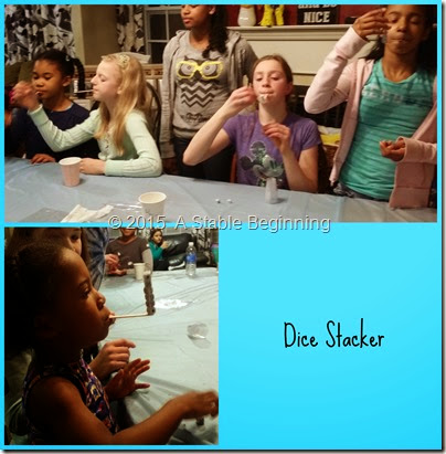 dice stacker Collage