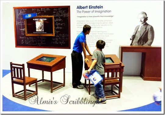 brain expo - einstein booth