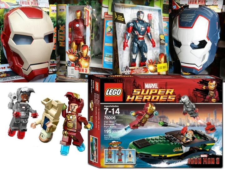 brinquedos homem de ferro 3