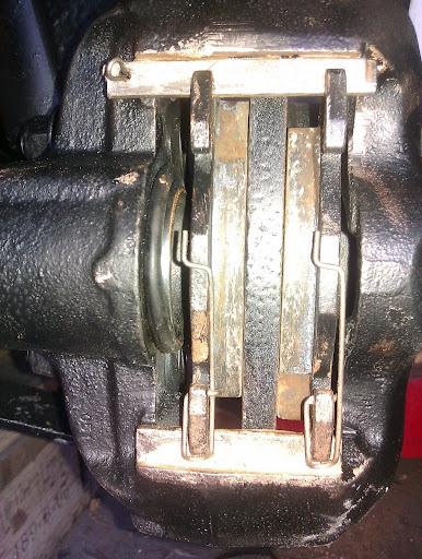 reparation af bremser kewet kewet bremsekaliber bremsekaliber kewet  styrtoj hjul ophaeng og bremser