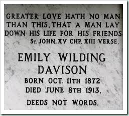 emily davison tomb