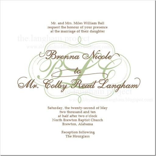 Wedding Reception Invitation Wording 70 Amazing The Brenna Wedding Invitation
