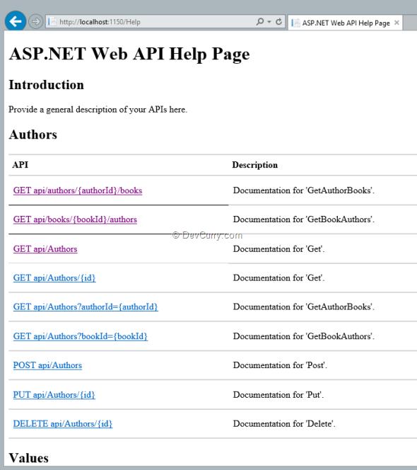 web-api-help-page-home
