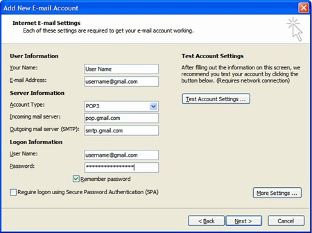 configure-Microsoft-outlook-2007-for-Gmail-account