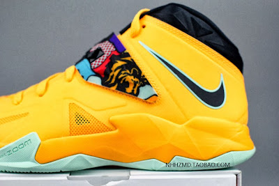 nike zoom soldier 7 gr yellow pop art 4 04 Nike Soldier VII Coconut Groove aka Pop Art available at Eastbay
