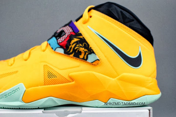 Nike Soldier VII 8220Coconut Groove8221 aka PopArt available at Eastbay