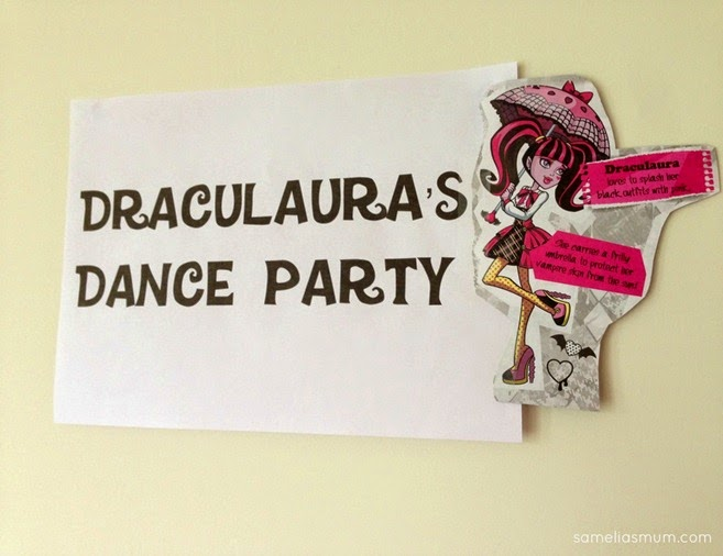 Monster High Party - Draculaura