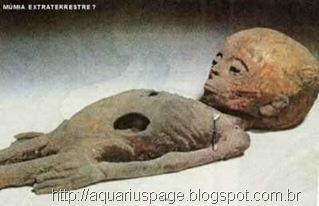 a mumia extraterrestre