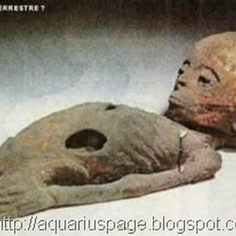 A Múmia Egípcia Extraterrestre