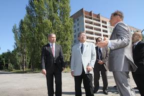 Визит спикера палаты представителей парламента Японии Такахиро Йокомити в Чернобыль