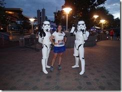 Disneyland Half Marathon Storm Troopers