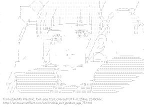 [AA]Fram Nara (Mobile Suit Gundam AGE)
