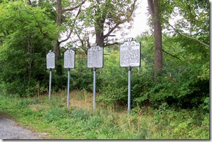 Gettysburg Campaign, Marker B-32 Second marker from the right