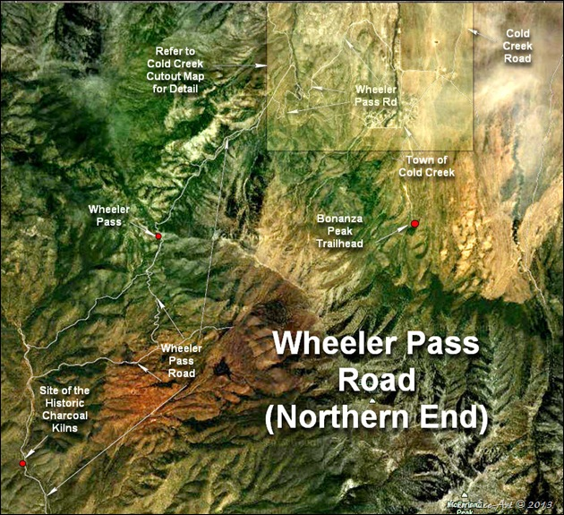 MAP-Wheeler Pass Road (Northern End)