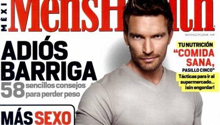 Julián Gil portada de la revista Men's Health