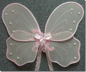 Feenflügel rosa