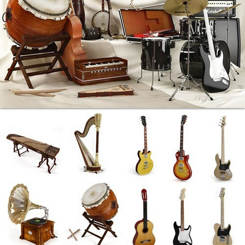 Archmodels Vol 67 - Musical Instruments (Max & Vray)