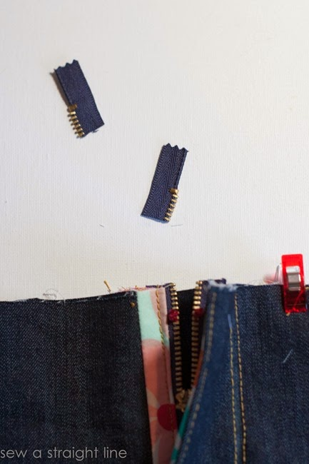 zipper fly jeans sew along sew a straight line-35