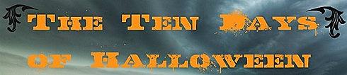 10 days of halloween banner