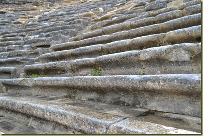 Stratonikeia Theatre seating