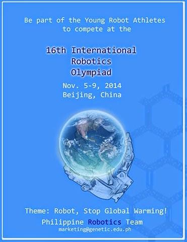 International Robotics Olympiad Competition 2014 Martin Rules