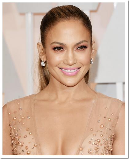 Looks beauty premios Oscar 2015 02 Jennifer Lopez