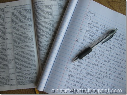 Are you looking for an easy Bible reading plan that can fit any reading goals? Check out this simple method that makes Bible study easy and effective. http://allourdays.com/2012/04/bible-reading-plan-simple-effective-soap.html