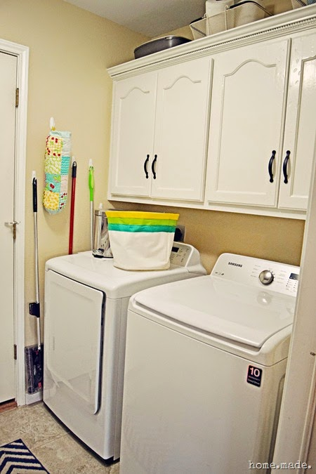 Laundry Room Reveal home.made.
