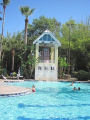 Florida Marriott pool w water falls