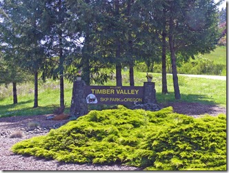 Timber Valley Sign