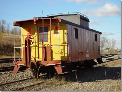 029 Rugby - Caboose