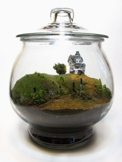 Beetlejuice Terrarium by FaceoftheEarth