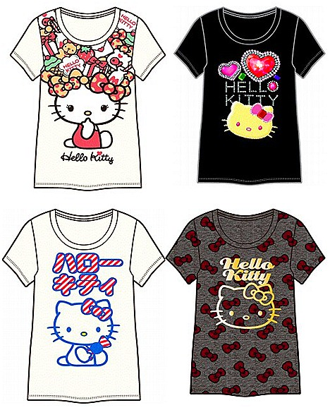 Uniqlo Hello Kitty UT New York Singapore Toyko