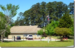 Visitor Center and Museum at GA Veterans Memorial State Park