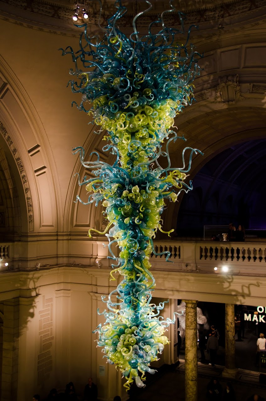 Chihuly glass at V&A