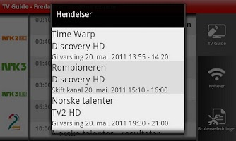 Screenshot of Altibox for Android